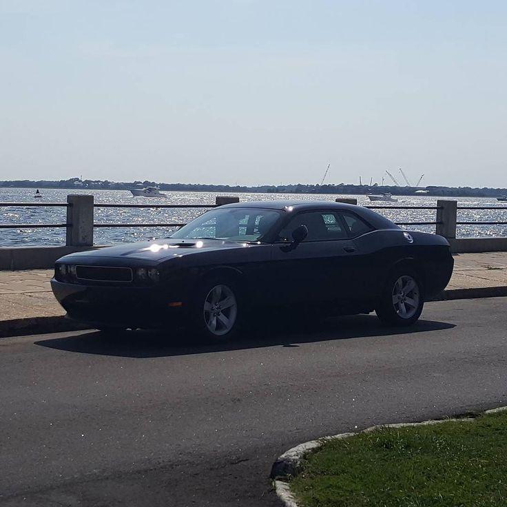 Nice Challenger!  #protecautocare #engineflush #carrepair #dodge #challenger #rt #v8 #american #muscle #car #horsepower #black #nofilter #followus