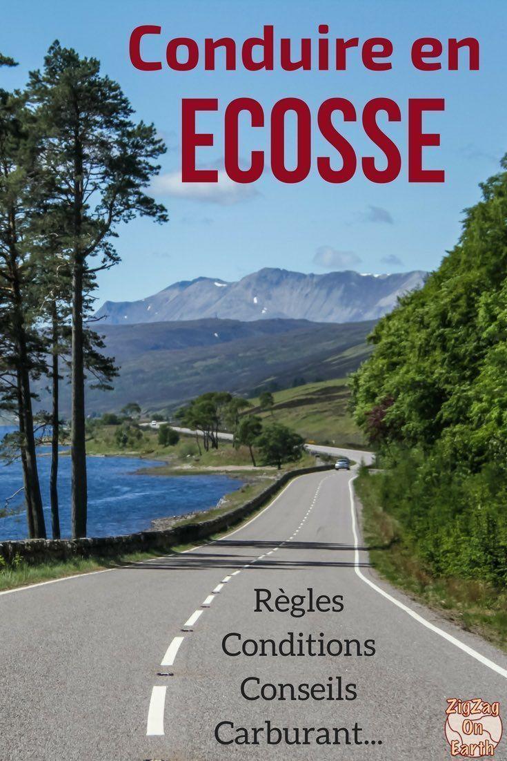 Ecosse Voyage – preparer votre voyage en Ecosse en comprenant les règles de conduite en Ecosse – permis, panneaux de signalization, comment rouler sur sur les routes à voies uniques…