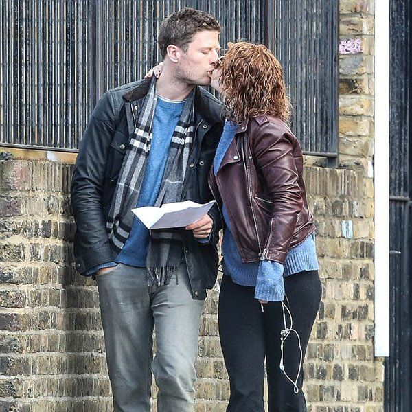James and Girlfriend Jessie Buckley