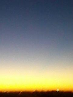 Cielo en Olivos...ayer..atardeciendo.