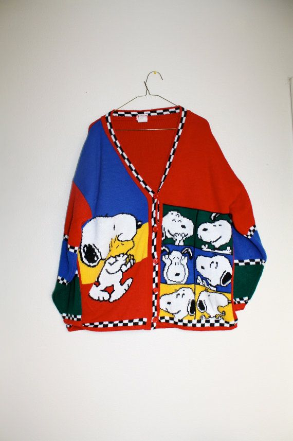 snoopy christmas sweater vest