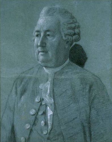 Jean-Etienne Liotard (Geneva 1702 - 1789 Geneva)  Study for the Portrait of Andre Naville (1709-1780), 1777.   Office of Graphic Arts Museums of Art and History, Geneva, Don Antonio Saura Foundation Archive