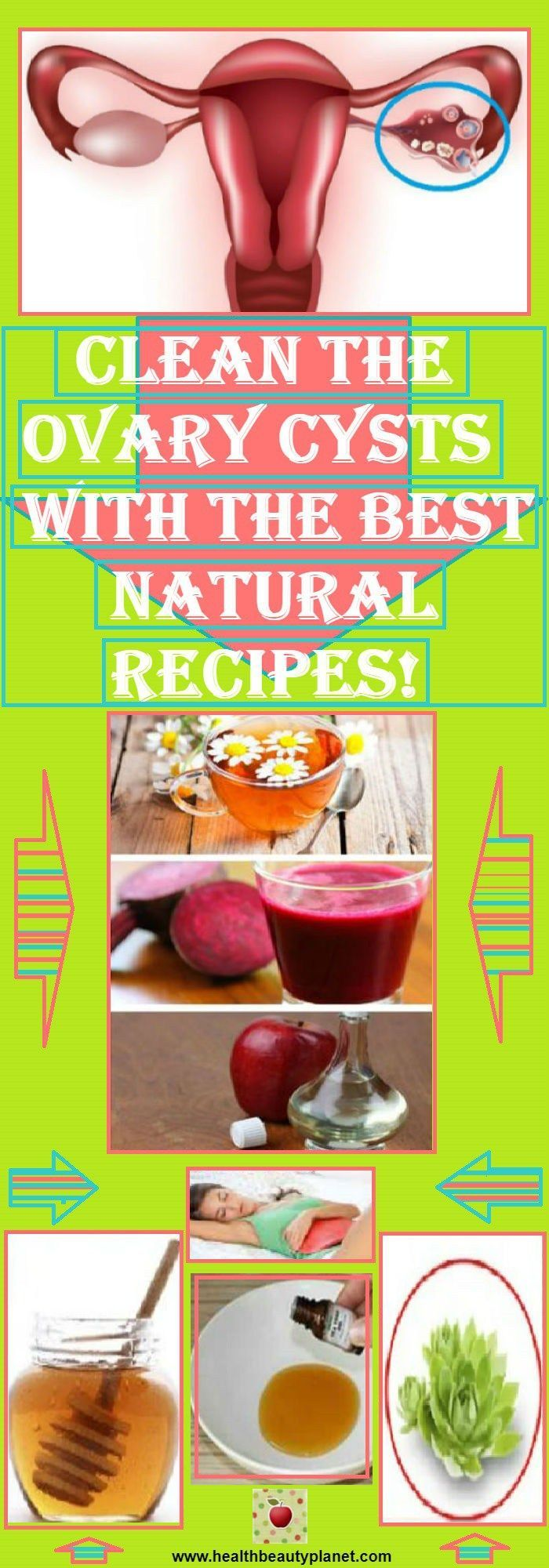 Clean The Ovary Cysts With The Best Natural Recipes!