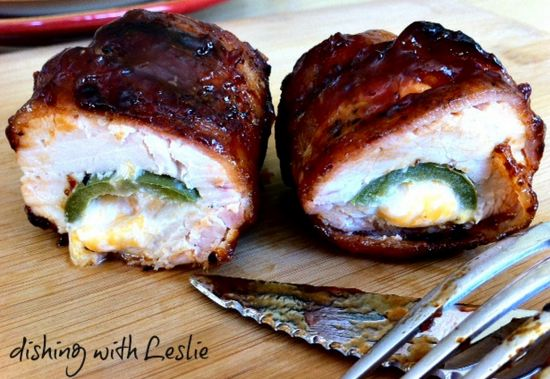 Bacon Chicken Bombs