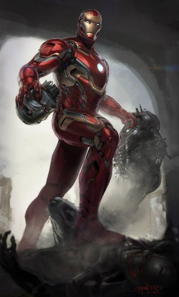 Iron Man  -  source: imgur.com  #Marvel