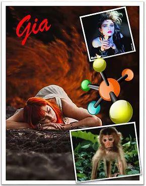Goo of the Gods - Available here!Gia Quarry(last name rhymes with laboratory)Aka: Gigi, GiGender: FemaleEthnicity:CaucasionHeight / Weight / Eye & Ha