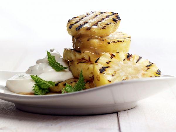 Ananas met mascarponecrème - Libelle Lekker!