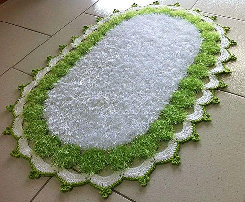 Tapete Decore Verde e Branco