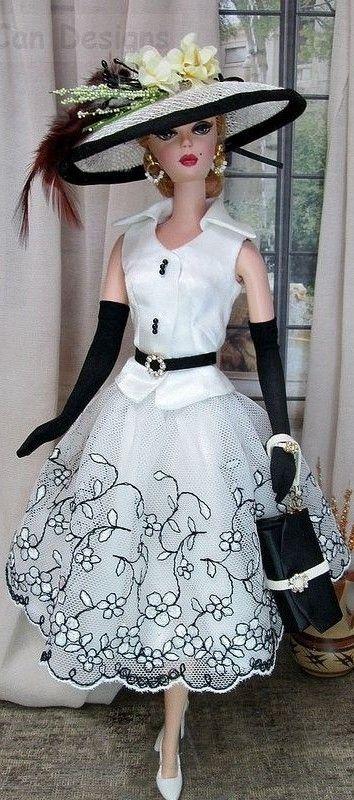 Barbie Silkstone White Fashion