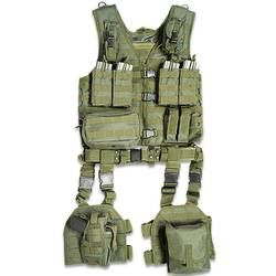 ModGear UTG OD Green Complete Tactical Assault Gear Full Strapping Zipper Quick Release Buckle Front  $99.97