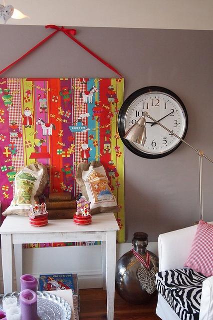 Cadeaupapier decoratie #sinterklaas #sint #traditie #diy