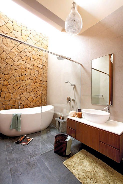 10 incredibly chic bathrooms with tile inspiration   Home & Decor Singapore