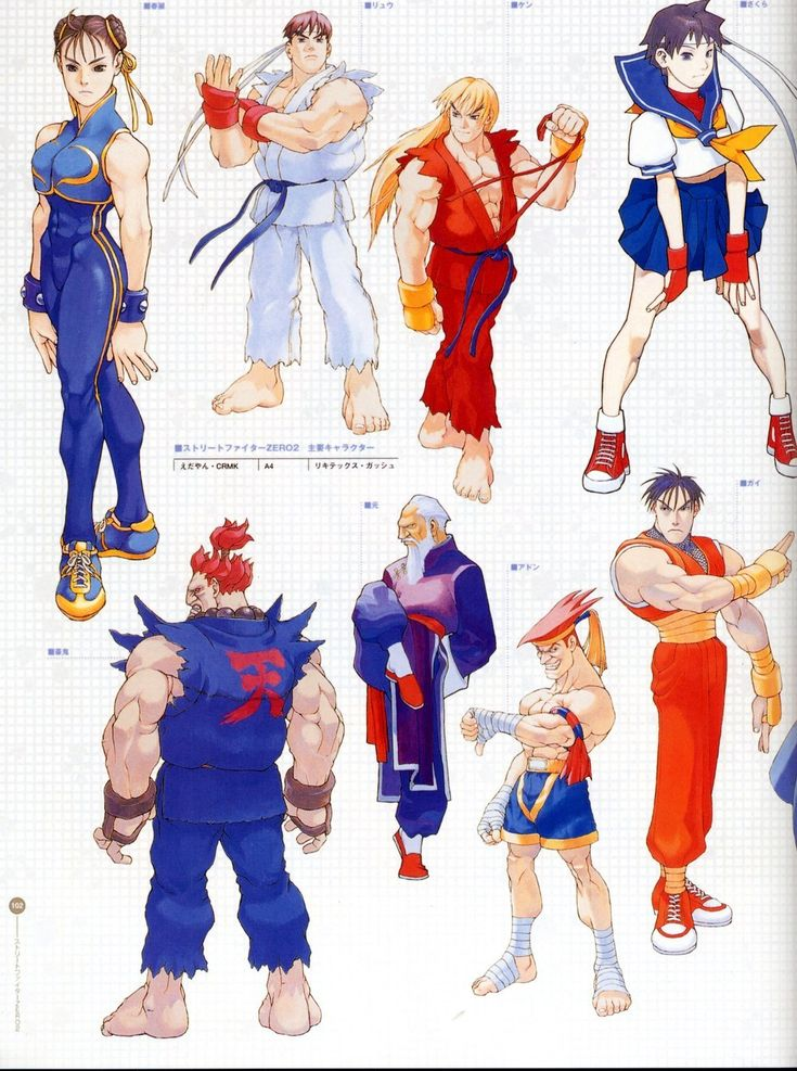 ladychunli68:  Street Fighter Alpha 2  Artwork by... - The Art of Fighting