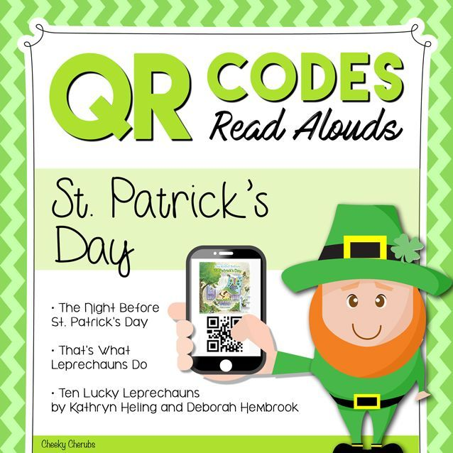 In this material, your students will find three St. Patrick's Day stories by scanning the QR codes. All QR codes are linked to SafeShare.tv to ensure your safe viewing for students as they won't see any adds or other videos. All you need for this lesson is a device that has a QR Code Scanner installed.  There are 3 cards in this packet that can be copied onto cardstock and made into flashcards. Laminating the cards will allow multiple uses of this activity.  These are the stories included in…