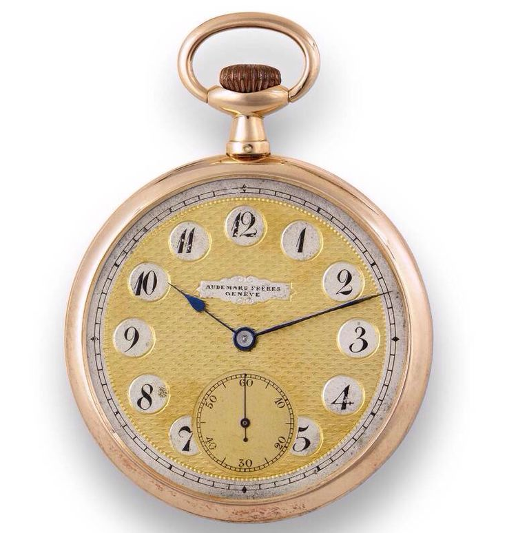 Audemars Freres Geneva Pocket Watch, Swiss Made