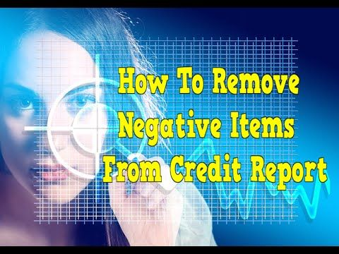 http://remove-negative-items-credit-report.info-pro.co  How To Remove Negative Items From Credit Report, What Is A Bad Credit Score, Help To Fix My Credit, Your Not Credit Worthy So Change it!  Having good credit is essential in today's world.   Acceptable credit will generally get you what you want, but bad credit can be the kiss of death. If you want a house, you need a mortgage.   If you want a car, you're likely going to take out a loan.   Anytime you apply for credit, the lender is