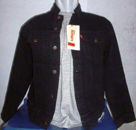 Jual jaket jeans levis pria warna hitam pekat http://ainuljeans.blogspot.com/2014/04/jual-jaket-jeans-pria-wanita-murah.html dengan kualitas terbaik dan murah.