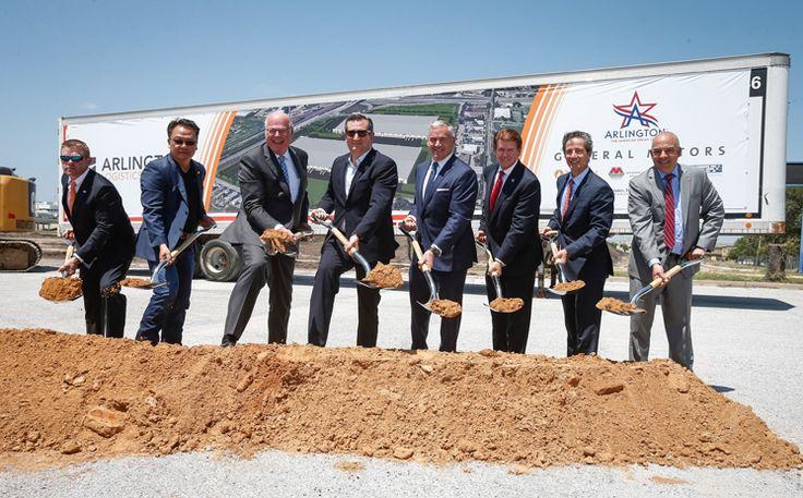 GM, Arlington Celebrate Groundbreaking of Automotive Logistics Center Read more: http://www.arlington-tx.gov/news/2017/06/16/gm-arlington-celebrate-groundbreaking-automotive-logistics-center/