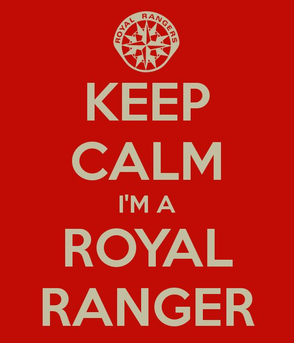 KEEP CALM I'M A ROYAL RANGER - KEEP CALM AND CARRY ON Image Generator