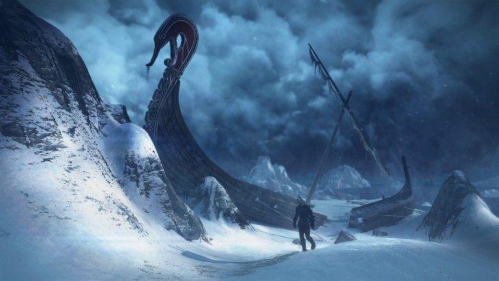 The Witcher 3 Wild Hunt Landscape Snow 1920x1080