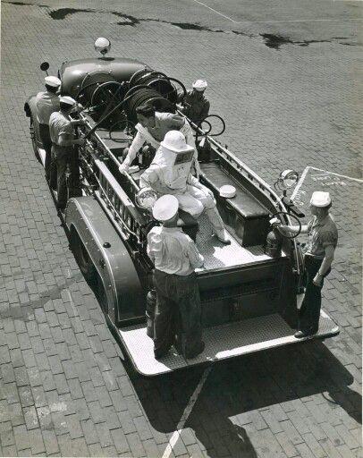 US Navy Crash Truck 1940s