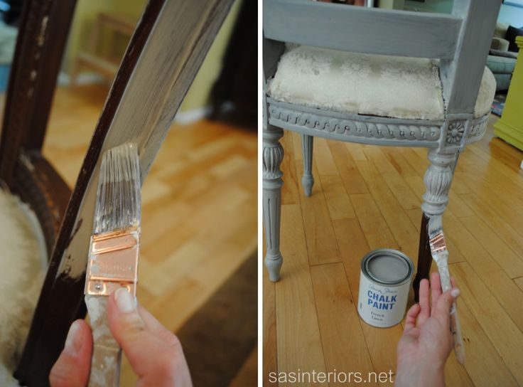 Tips & Tricks For Using Chalk Paint (for both home made -like mine- or store bought)