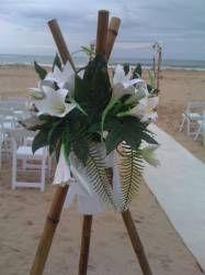17 best wedding decor bamboo tripod images on pinterest wedding beach and garden wedding ideasctoria wide junglespirit Choice Image
