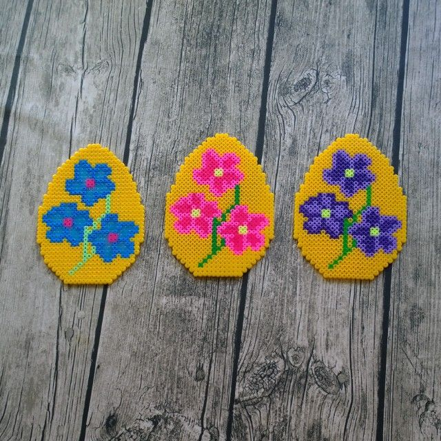 Easter eggs hama beads by pys82