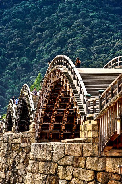 Kintai bridge, Yamaguchi, Japan
