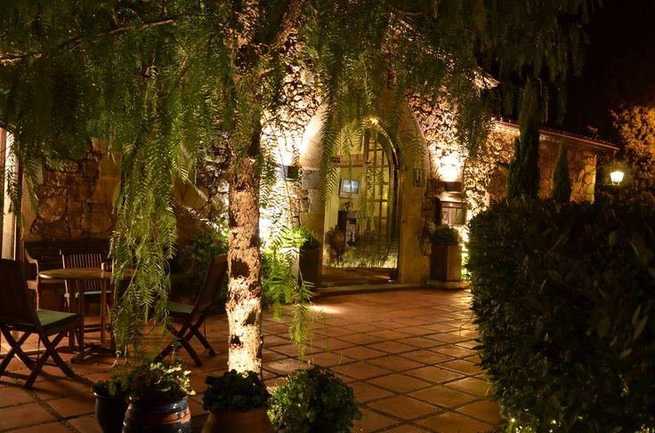 Hotel Restaurant Galena MC Begur, Costa Brava.