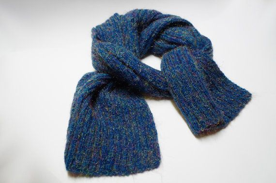 Long sparkly scarf for women