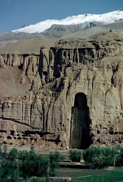 It broke my heart when the Bamiyan Buddhas were destroyed... without ever discussing them before, my little Harry has started asking when he can see the remains. I hope Afghanistan is stable enough one day.
