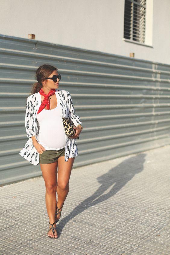 15 belles tenues de maternité d'été à copier maintenant #now #copy …  – Outfit Mode