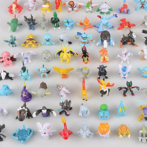 Pokemon Set of 25pcs Cute 3.5~5.5cm Mini Pokemon Random Pearl CT Figures Toy Party Gifts – Pokemon Mini Figures