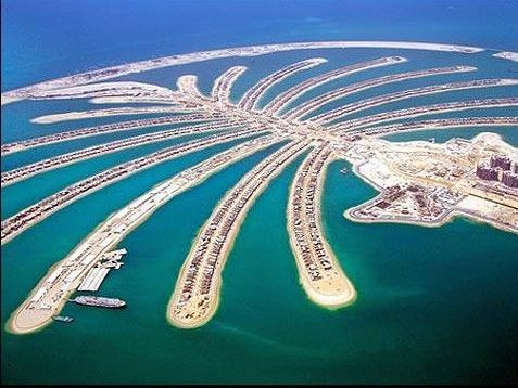 3 islas más grandes del mundo construídas por el hombre