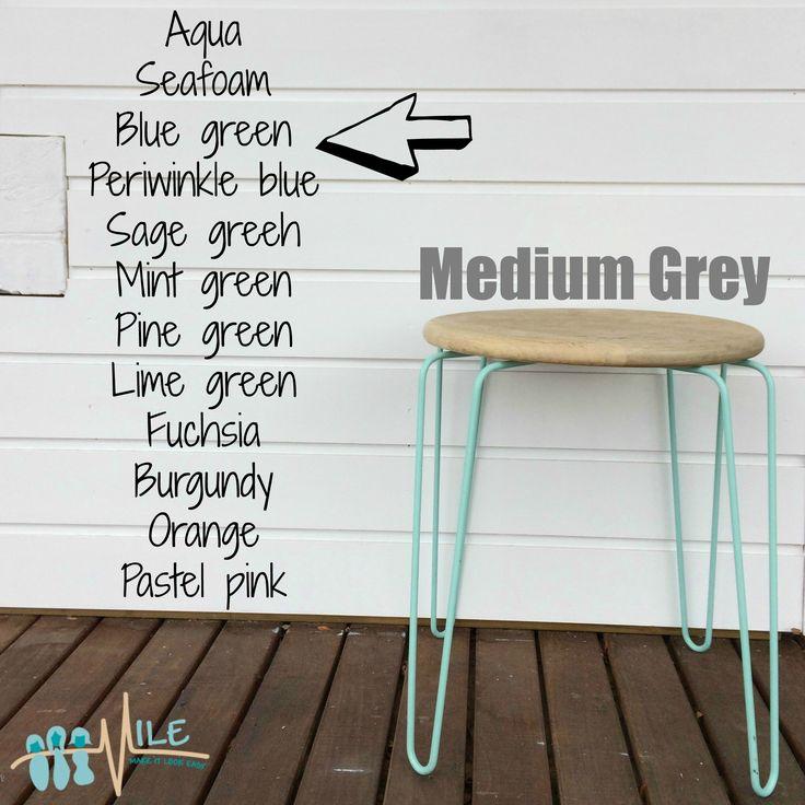 Medium grey goes with...
