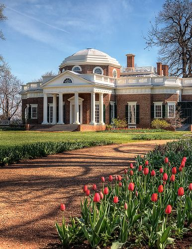 Monticello, Thomas Jefferson's home...its history, its gorgeous, and its interesting a must see