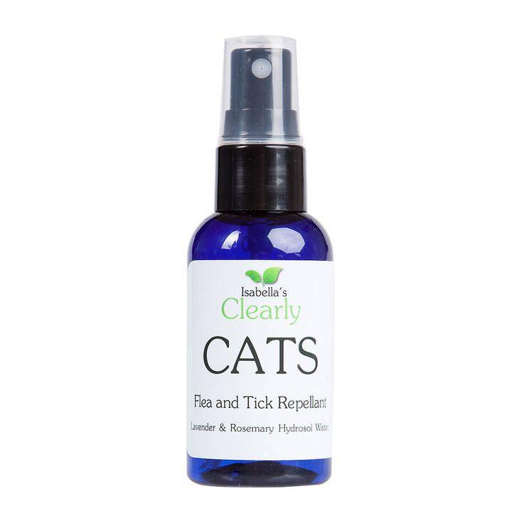 Clearly cats flea and tick repellent all natural safe