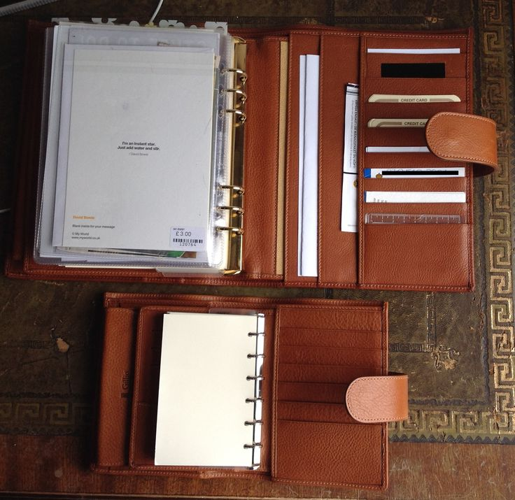 Gillio Leather planners -