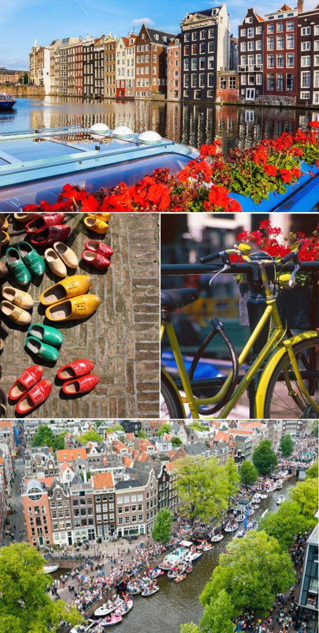 Amsterdam <3 Kameralne, pełne uroku miasto, gdzie miejsce znajdą amatorzy długich spacerów, jak i zażarci imprezowicze.