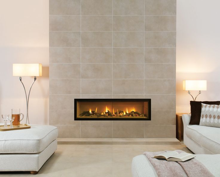 Studio Edge Gas Fires - Gazco Built In Fires, Contemporary Fireplaces