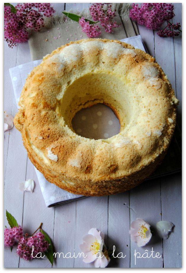 Gâteau aérien aux blancs d'oeufs