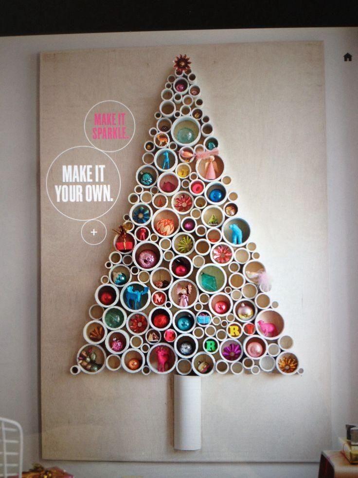 PVC pipe tree by Martha Stewart   PVC pipe   Pinterest
