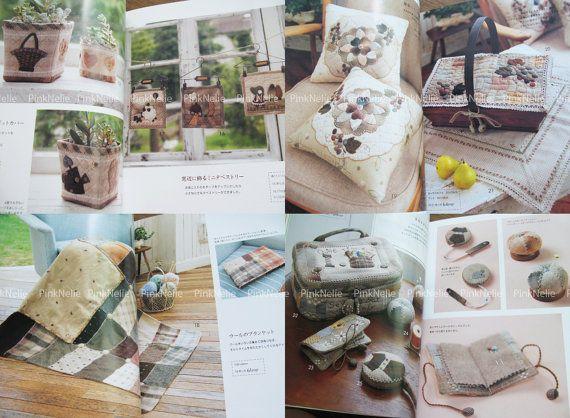 KUMIKO MINAMI Patchwork of Living Japanese Craft Book от PinkNelie