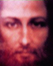 In the morning of Feb,4 1988 at about 1.45am, a seer from Gimigliano (Italy) takes a photo with a Polaroid towards a blinking point of light towards the Ascension mountain. The result is this photograph of the face of Jesus.