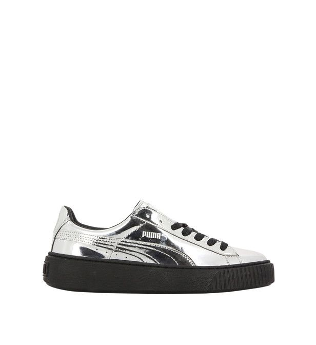 Baskets creepers à grosse plateforme