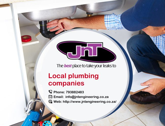 Find Local #PlumbingCompanies you are investigating #Local #pipes associations. These funnels authoritative laborers give plumbing repair from drain cleaning to sewer repair. http://www.jntengineering.co.za/