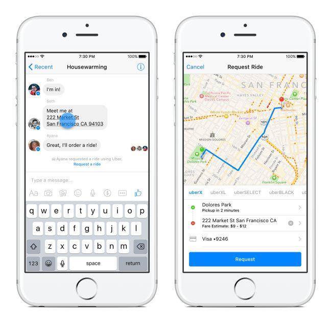 Introducing Transportation on Messenger