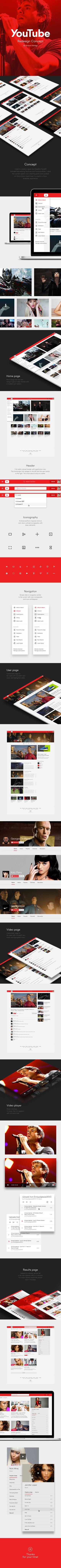 https://www.behance.net/gallery/22482013/YouTube-Redesign-Concept
