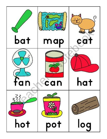 55 Best Images About CVC Words On Pinterest Word Games